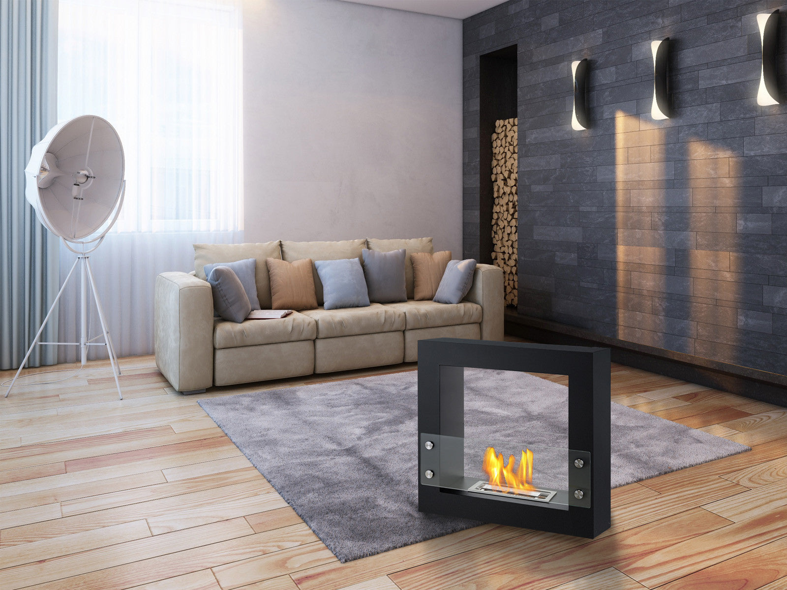 Ignis fireplaces at The Noble Flame