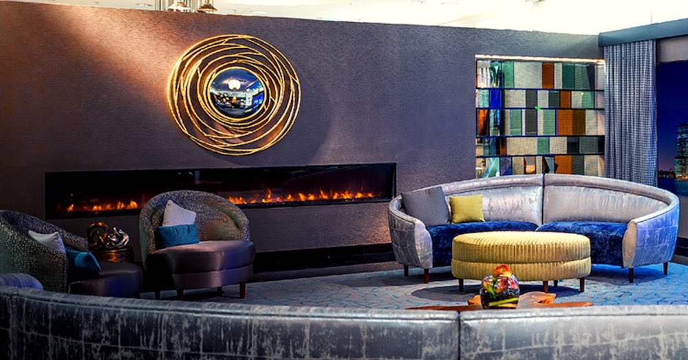 The Noble Flame Modern Linear Electric Fireplaces