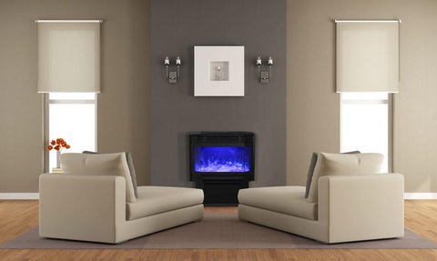"Amantii 26"" Free-Standing Electric Fireplace"