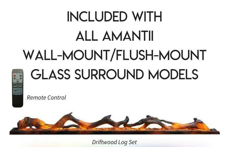 Amantii 50 inch Wall Mount Electric Fireplace Accessories