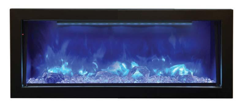 "Amantii 40"" Electric Fireplace Indoor or Outdoor Built-in BI-40-DEEP"