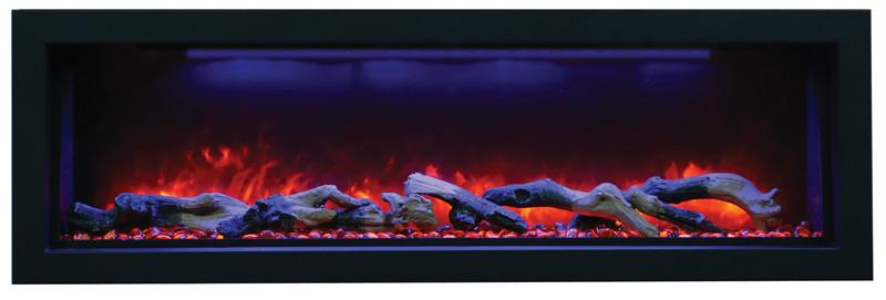 "Amantii 50"" Electric Fireplace Indoor or Outdoor Built-in BI-50-DEEP"