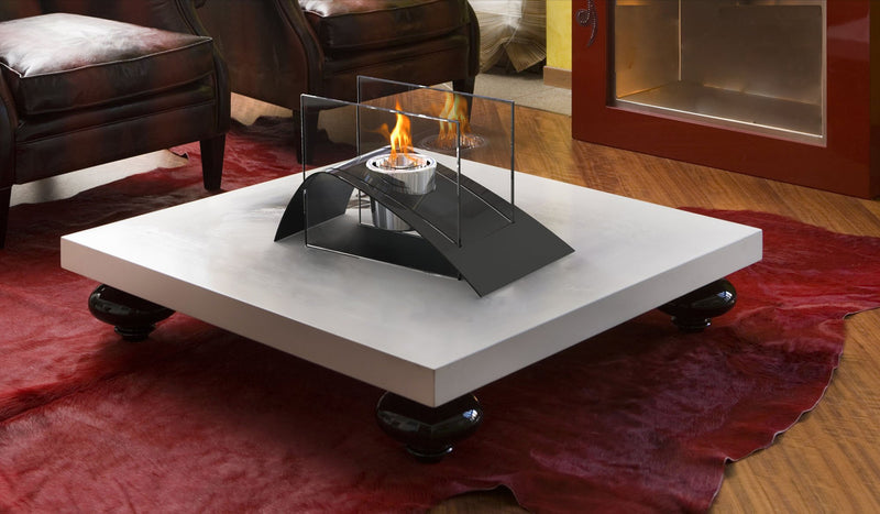 DecorPro Allusion Bio Ethanol Table-Top Fireplace