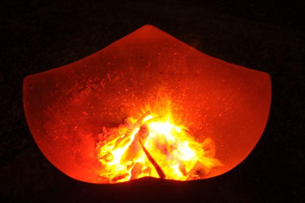 FirePit Art Manta Ray 36 inch Fire Pit