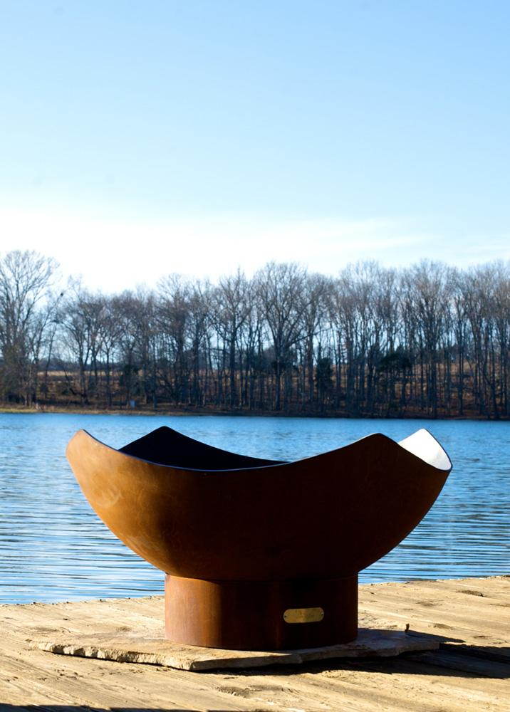 "FirePit Art Manta Ray 36"" Fire Pit"