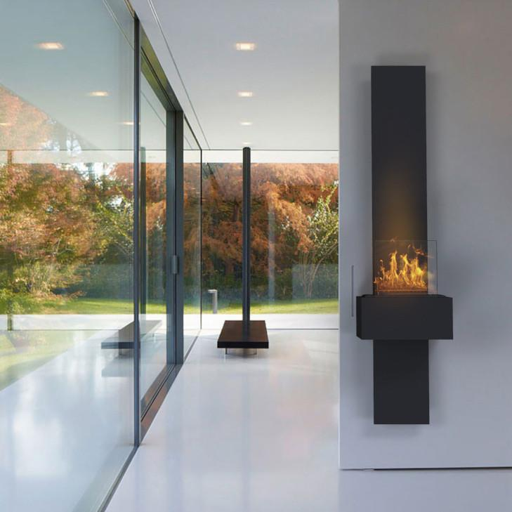 DecorPro Glide Wall-mounted Fireplace