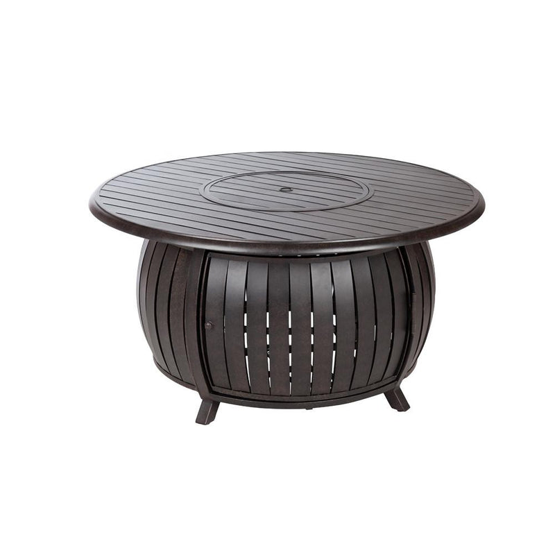 Grand Cooper Extruded Aluminum Round LPG Fire Pit