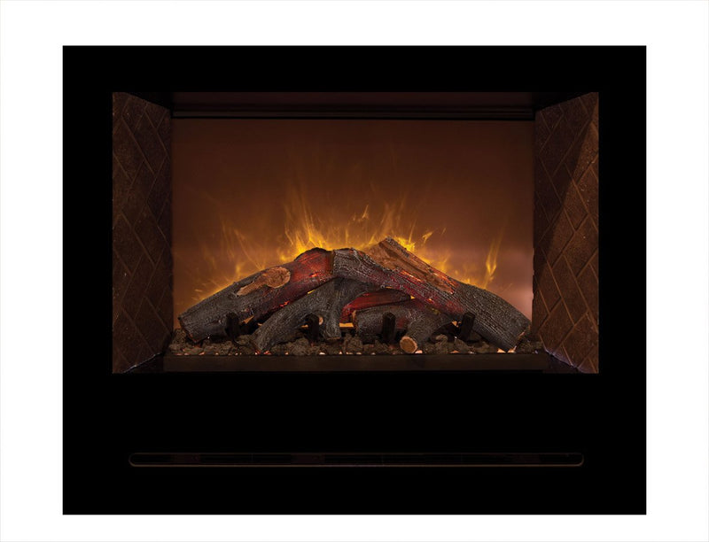 Modern Flames 42 inch Custom Built-In Electric Fireplace Home Fire HF42CBI