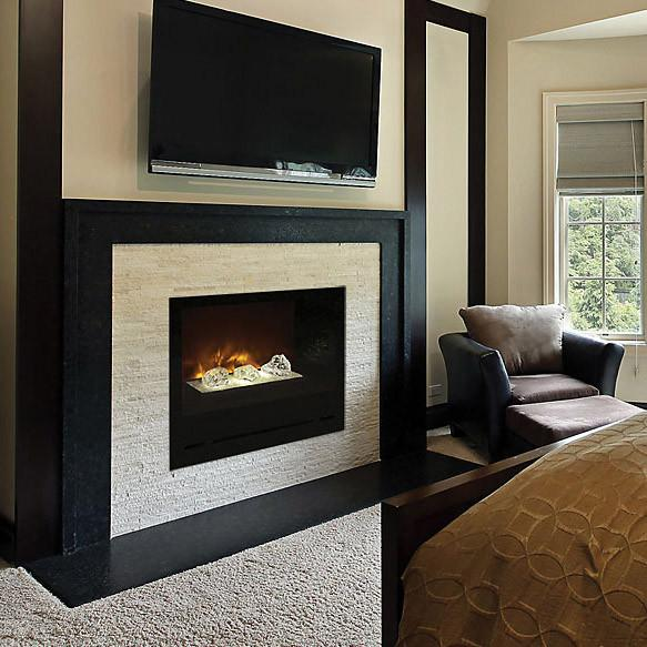 "Modern Flames 36"" Custom Built-In Electric Fireplace Home Fire HF36CBI"