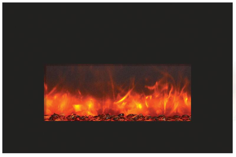 Amantii 26-in Electric Fireplace Insert INSERT-26-3825-BG