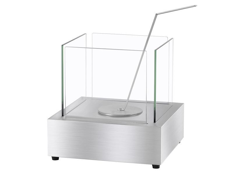 Ignis Cube Tabletop Ventless Ethanol Fireplace