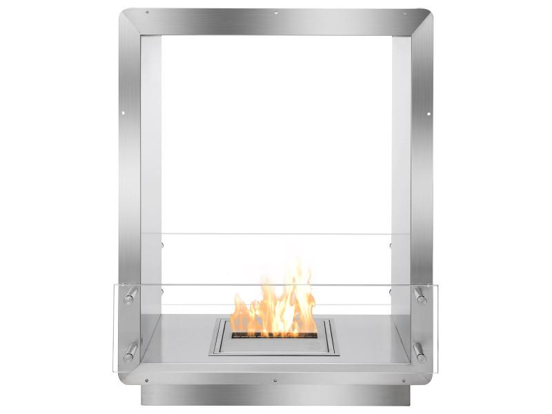 Ignis Double Sided Fireplace Insert Fb1212 D Home Alley