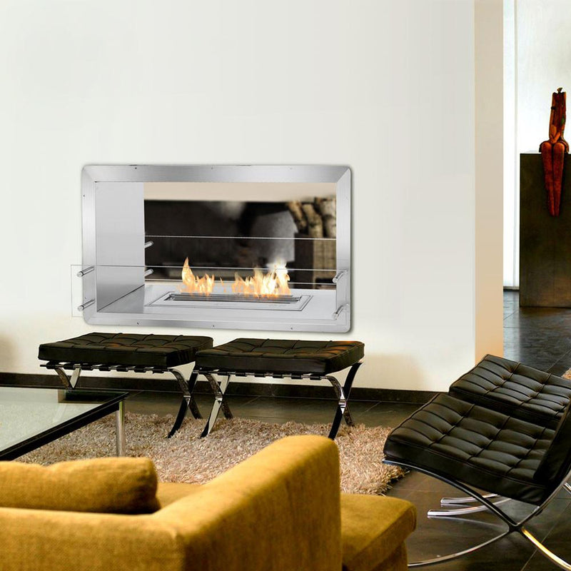 Ignis Double-Sided Fireplace Insert FB2400-D