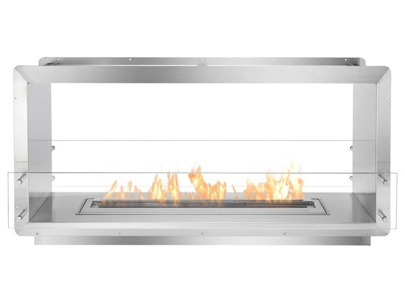 Ignis Double-Sided Ethanol Fireplace Insert FB3600-D