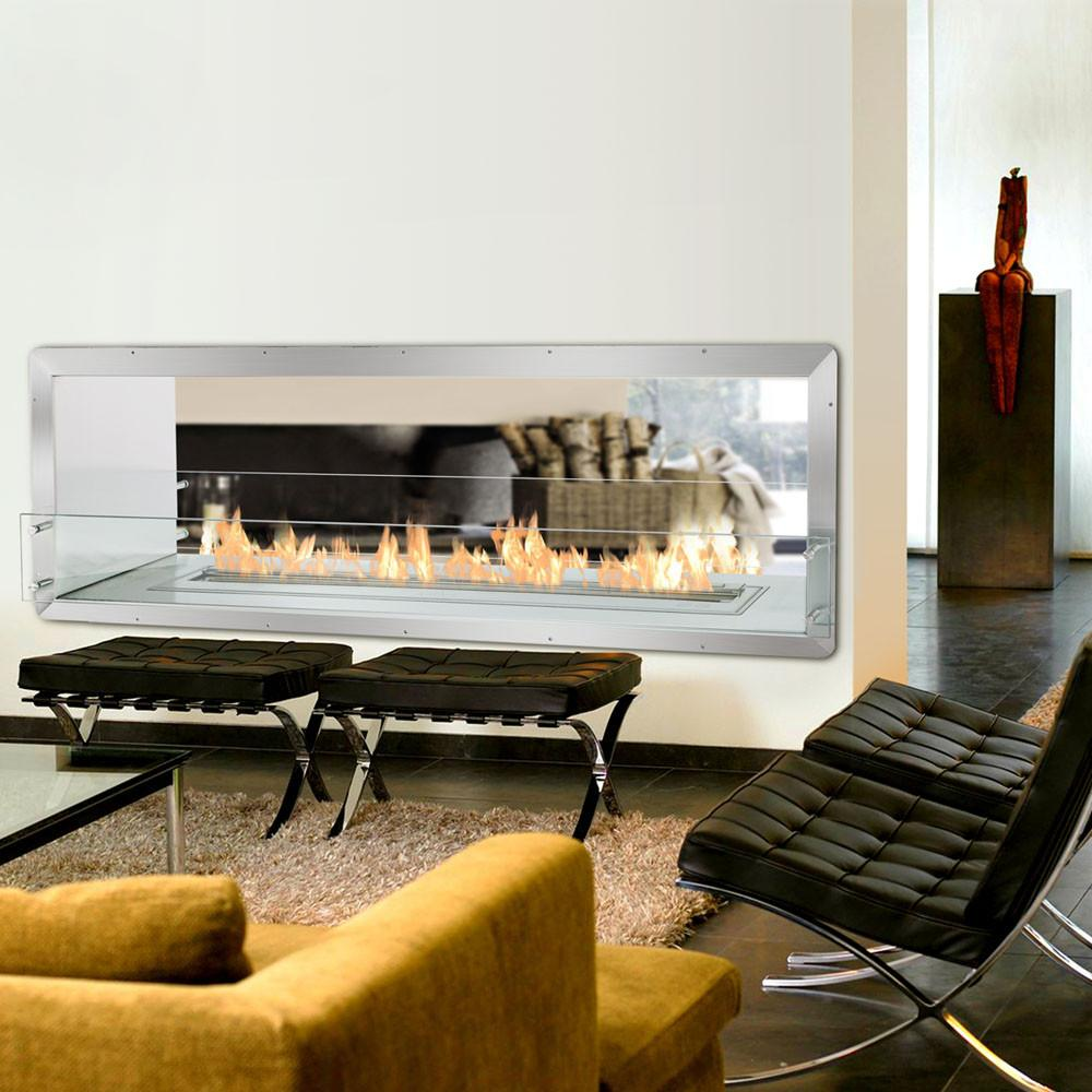 Ignis Double-Sided Fireplace Insert FB4800-D