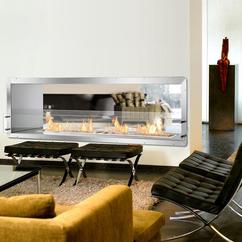 Ignis Double-Sided Fireplace Insert FB6200-D