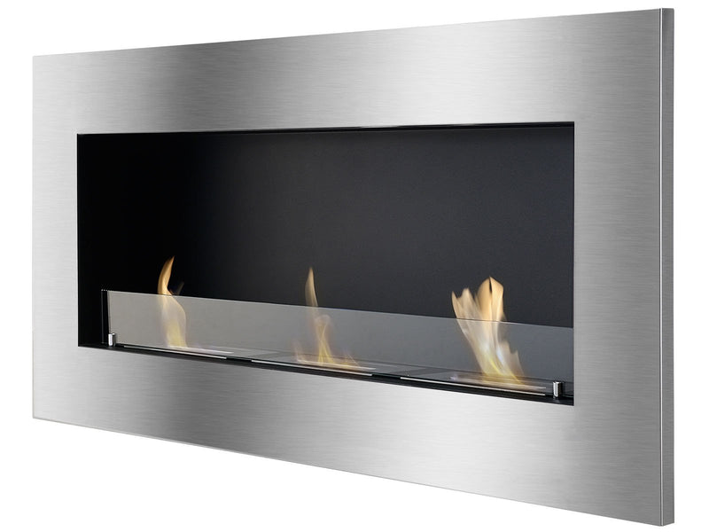 Ignis Optimum Recessed Ventless Ethanol Fireplace - The Noble Flame