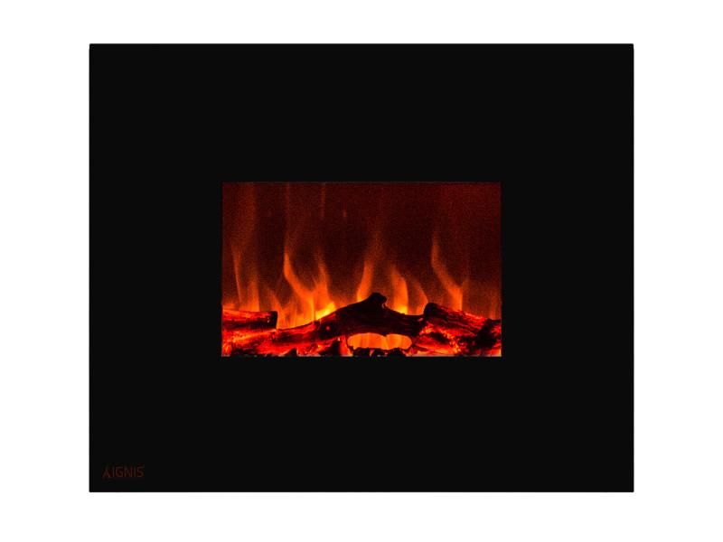 Ignis Royal Wall Mount 36 in Electric Fireplace