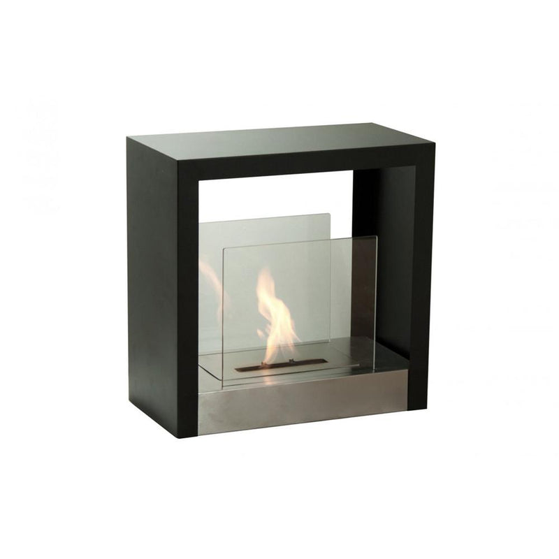 Ignis Tectum S Freestanding Ventless Ethanol Fireplace