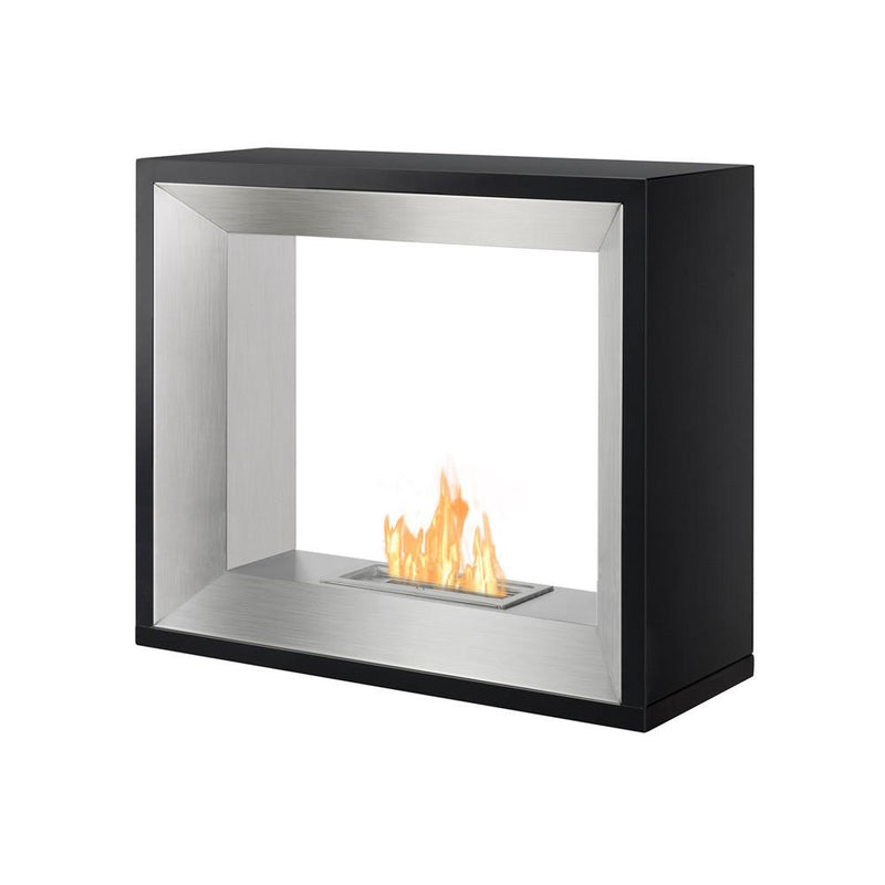Ignis Tempo Freestanding Ventless Ethanol Fireplace