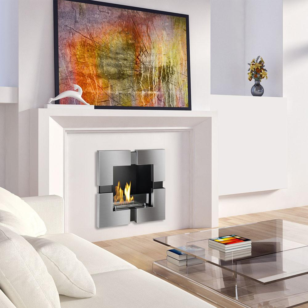 on wall modernblaze ethanol ignis images modern in fireplaces best villa pinterest mounted wmf fireplace built