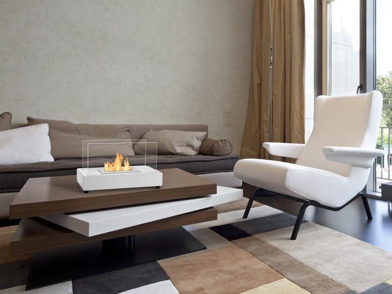 Ignis Tower Tabletop Ethanol Fireplace