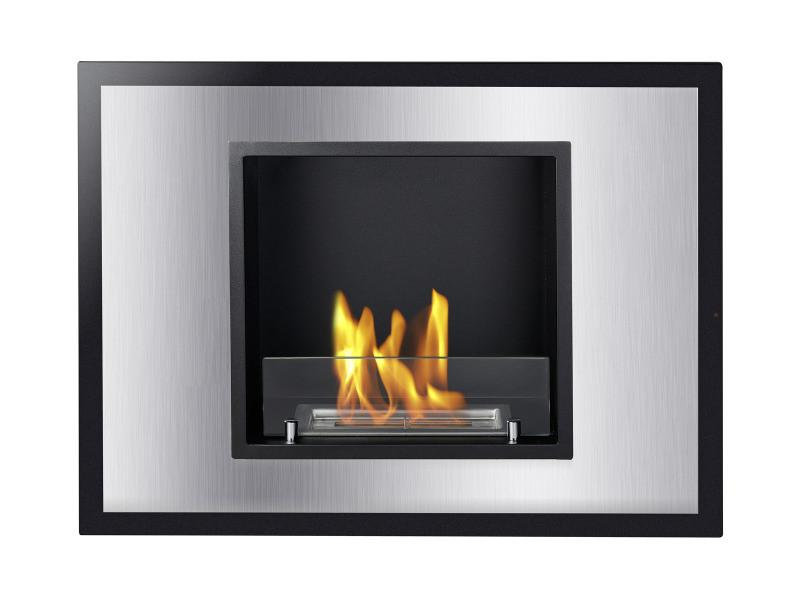 Ignis Vienna Recessed 30 in Ventless Ethanol Fireplace - UL/CUL