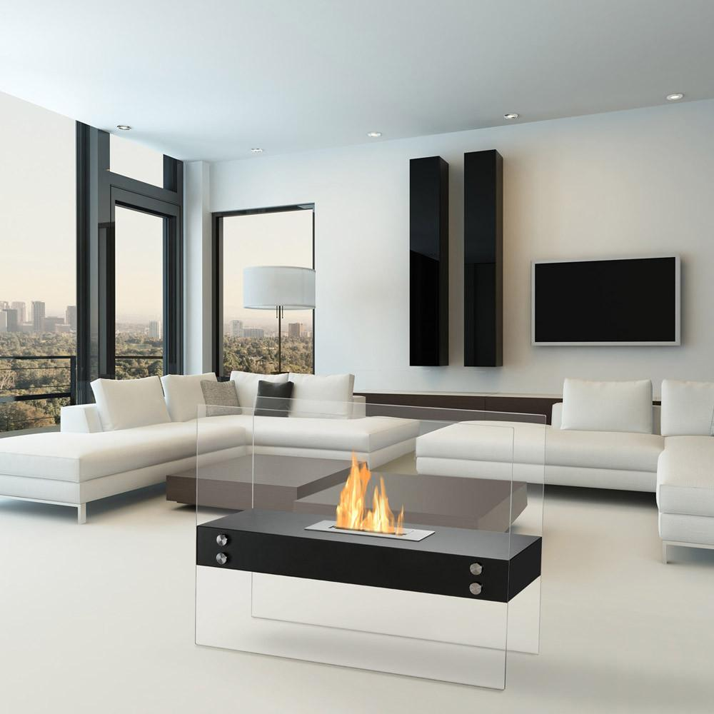 burner ignis blaze products ethanol insert modern fireplace