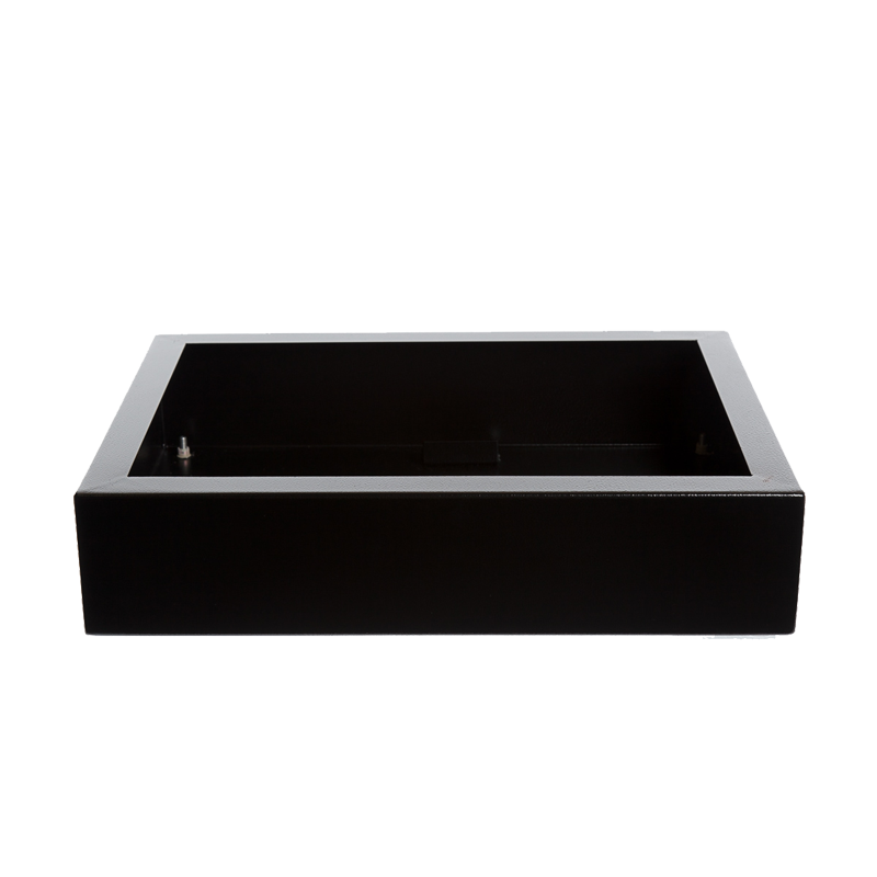 Bio-Blaze Table-top Bio-Ethanol Fireplace Insert Table box Black BB-IT-B