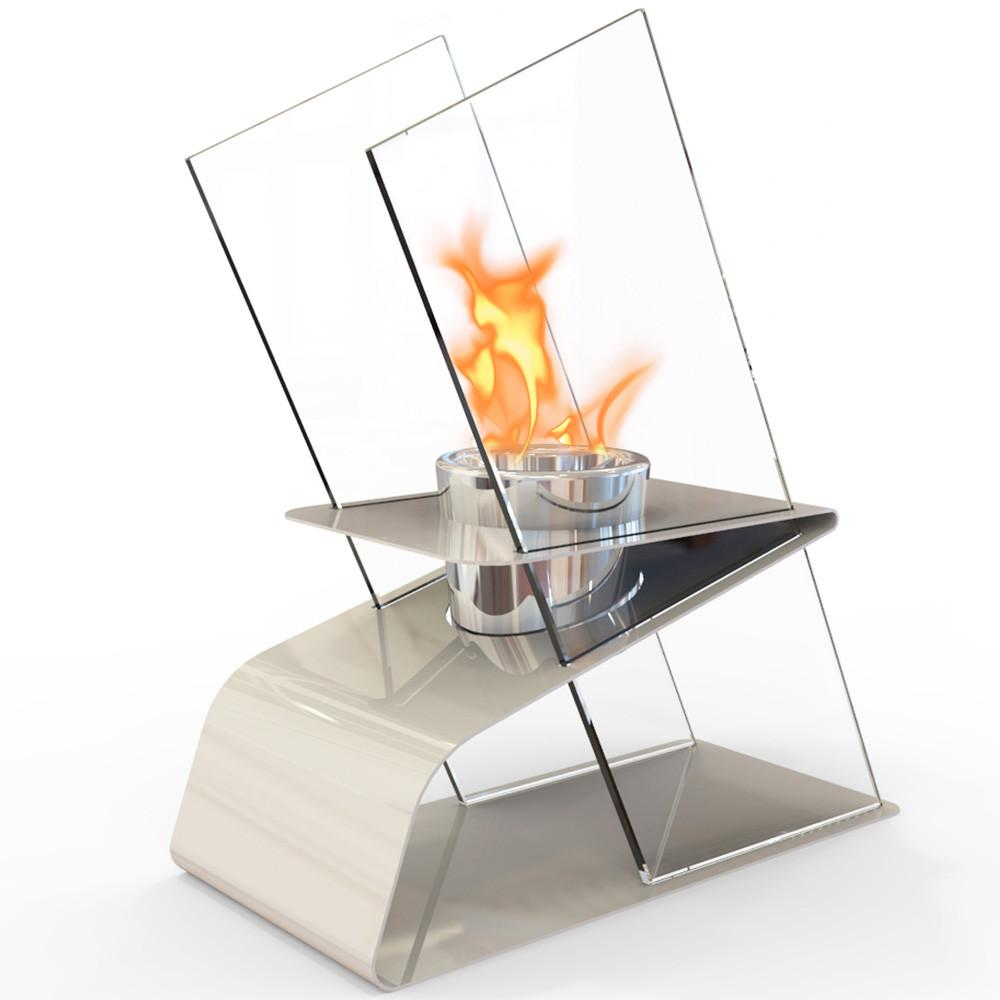 DecorPro Kaskade Bio-Ethanol Indoor Outdoor Table-Top Fireplace