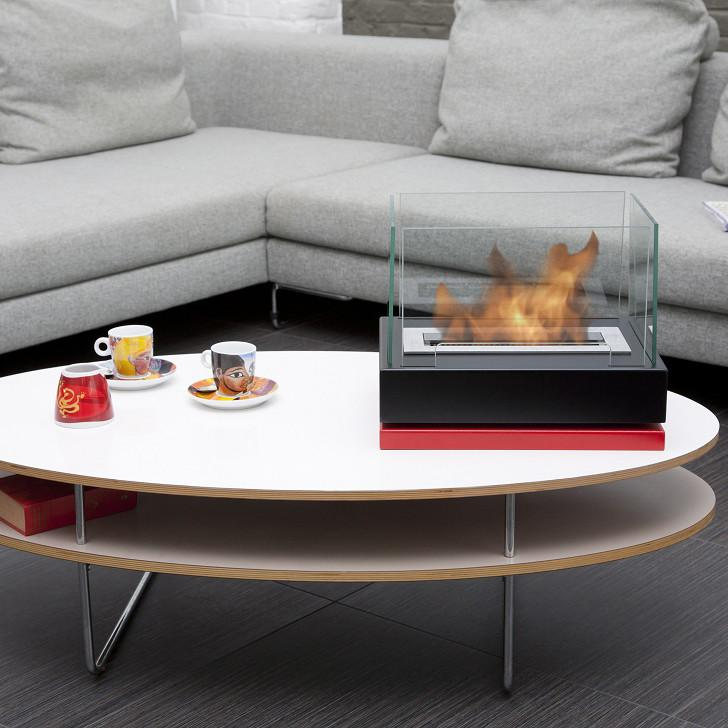 Bio-Blaze Table-top Bio-Ethanol Fireplace Lisboa Black BB-LIS-B