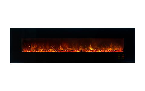 Modern Flames Ambiance CLX2 100 inch Electric Fireplace Orange Flames