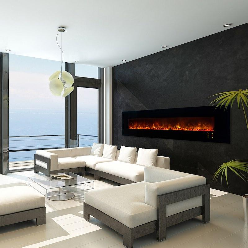 Modern Flames Ambiance 100 Inch Recessed Wall Mount