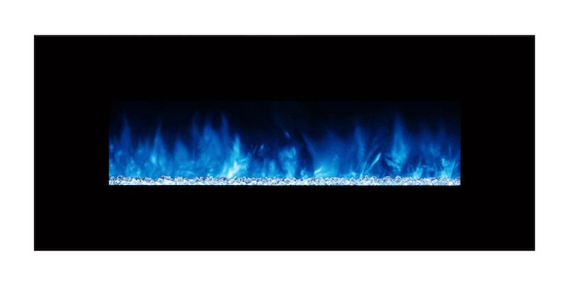 Modern Flames Ambiance CLX2 60 inch Electric Fireplace Blue Flames