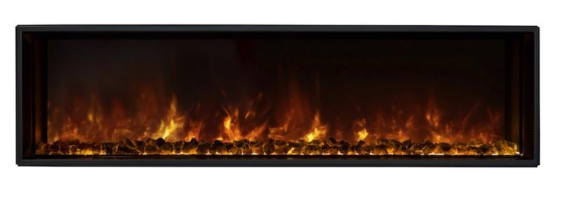 Modern Flames Landscape FullView 60 inch Built-In, Recessed Flush-Mount Electric Fireplace