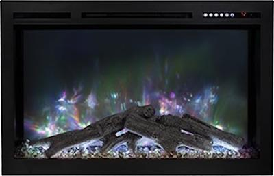 Modern Flames Spectrum 50 inch Electric Fireplace Canyon Driftwood Log Set