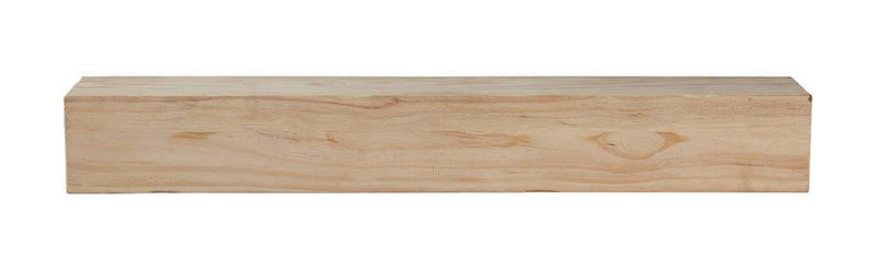 Pearl Mantels Lexington Rustic Wood Mantel Shelf Unfinished