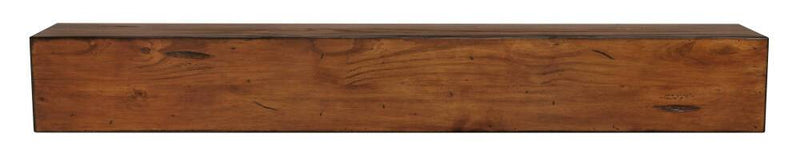 Pearl Mantel Lexington Wood Mantel Shelf in Medium Rustic Distressed Finish