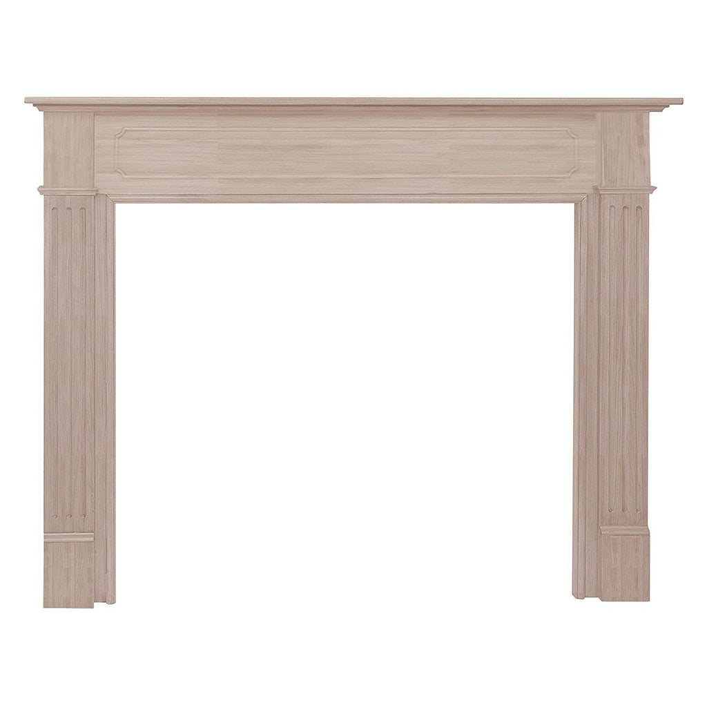 Pearl Mantels Williamsburg Wood Fireplace Mantel Surround Unfinished