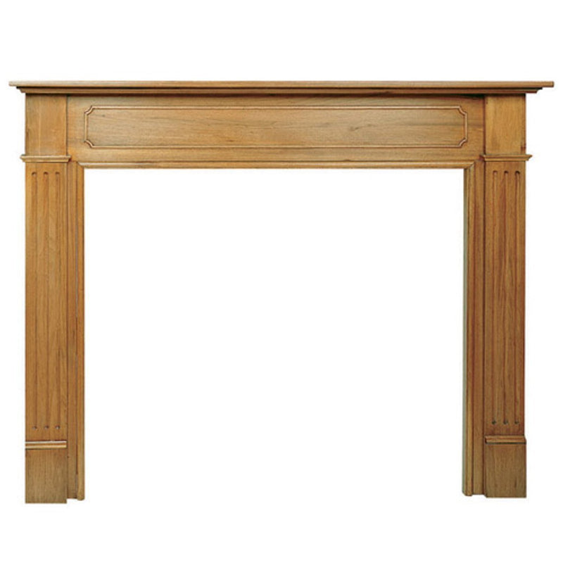 Pearl Mantels Williamsburg Wood Fireplace Mantel Surround finished 2