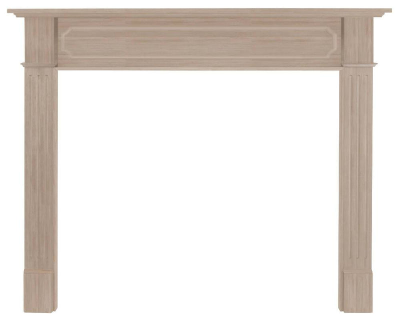 Pearl Mantels Alamo Wood Mantel Surround Unfinished