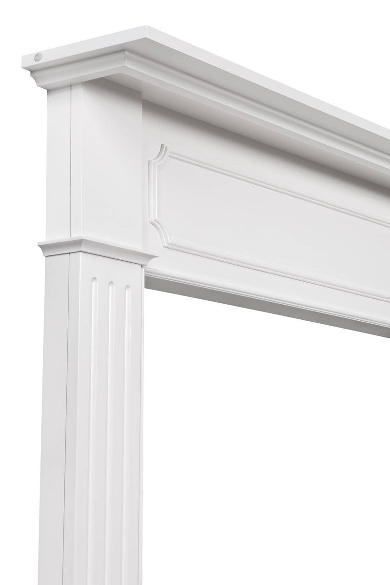 Pearl Mantels Berkley Fireplace Mantel Surround corner