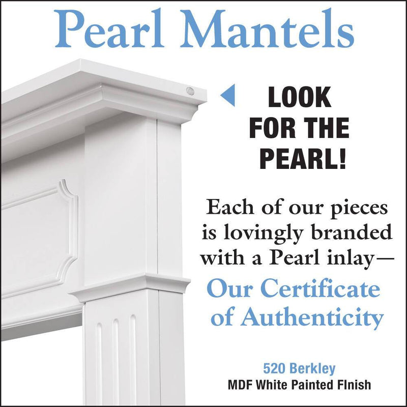 Pearl Mantels Berkley Fireplace Mantel Surround detail