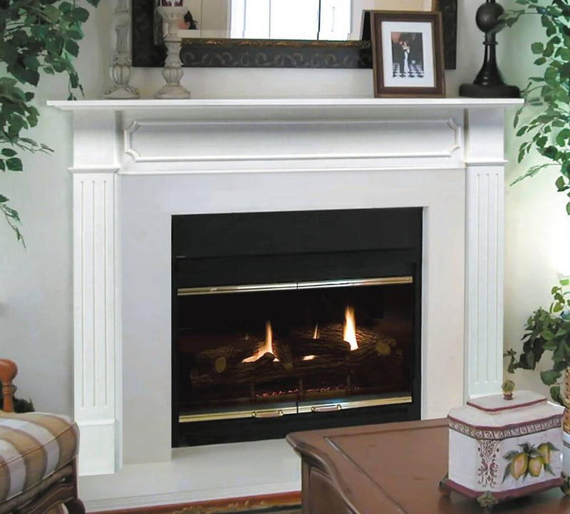 Pearl Mantels Avondale Fireplace Surround: Pearl Mantels Berkley Fireplace Mantel Surround