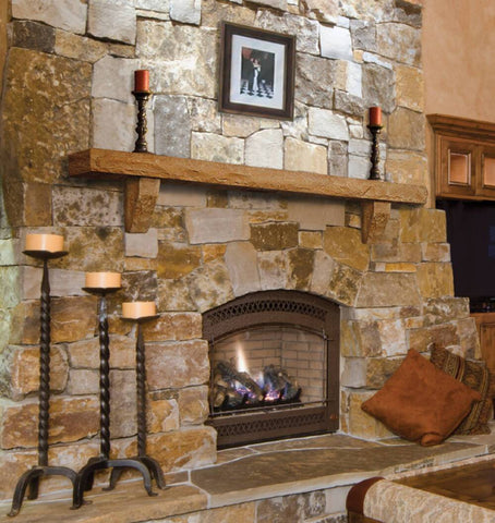 Collection of Fireplace Mantel Shelves and Mantel Surrounds