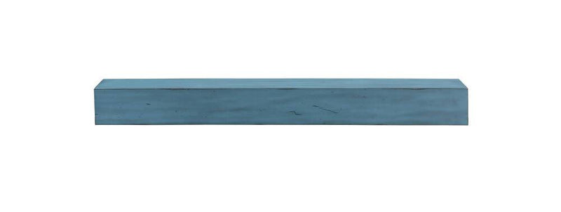 Pearl Mantels Dakota Wood Fireplace Mantel Shelf in Riviera Distressed Finish closed 2