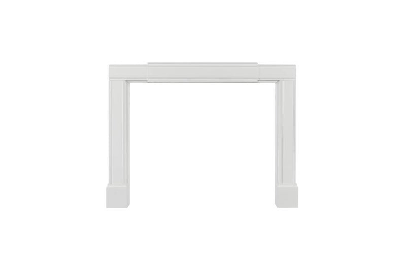 Pearl Mantels Emory Fully Adjustable Fireplace Mantel Surround partly expanded