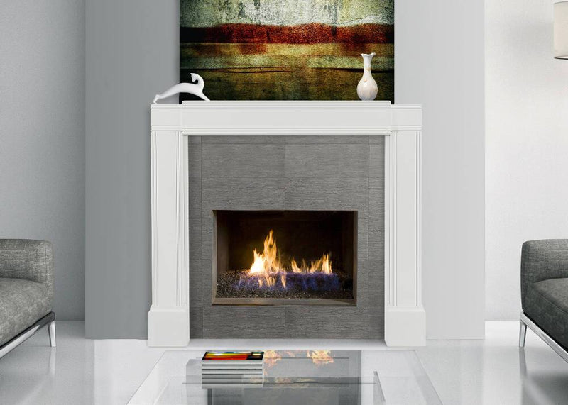 Pearl Mantels Emory Fully Adjustable Fireplace Mantel Surround narrow