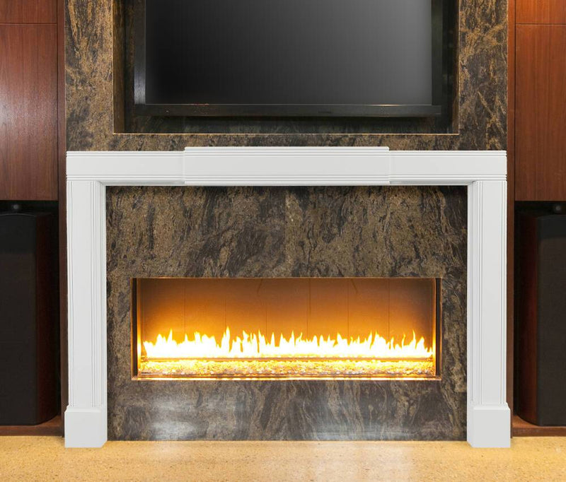 Pearl Mantels Emory Fully Adjustable Fireplace Mantel Surround extended