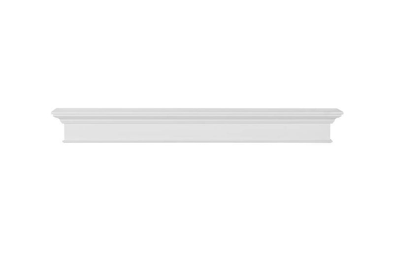 Pearl Mantels Henry Fireplace Mantel Shelf in White Paint